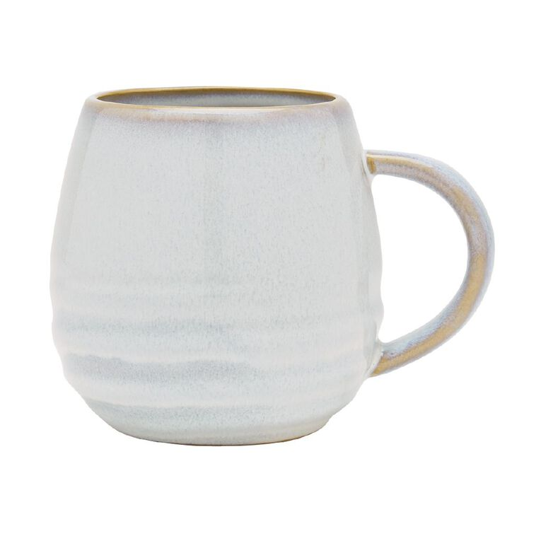 Living & Co Hot Chocolate Mug Blue, , hi-res