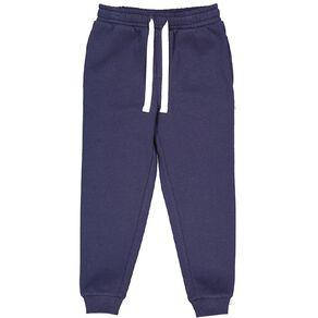 Young Original Plain Rib Cuff Trackpants