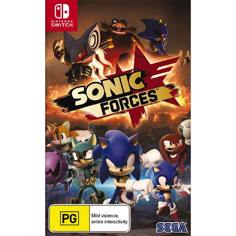 Nintendo Switch Sonic Forces, , hi-res
