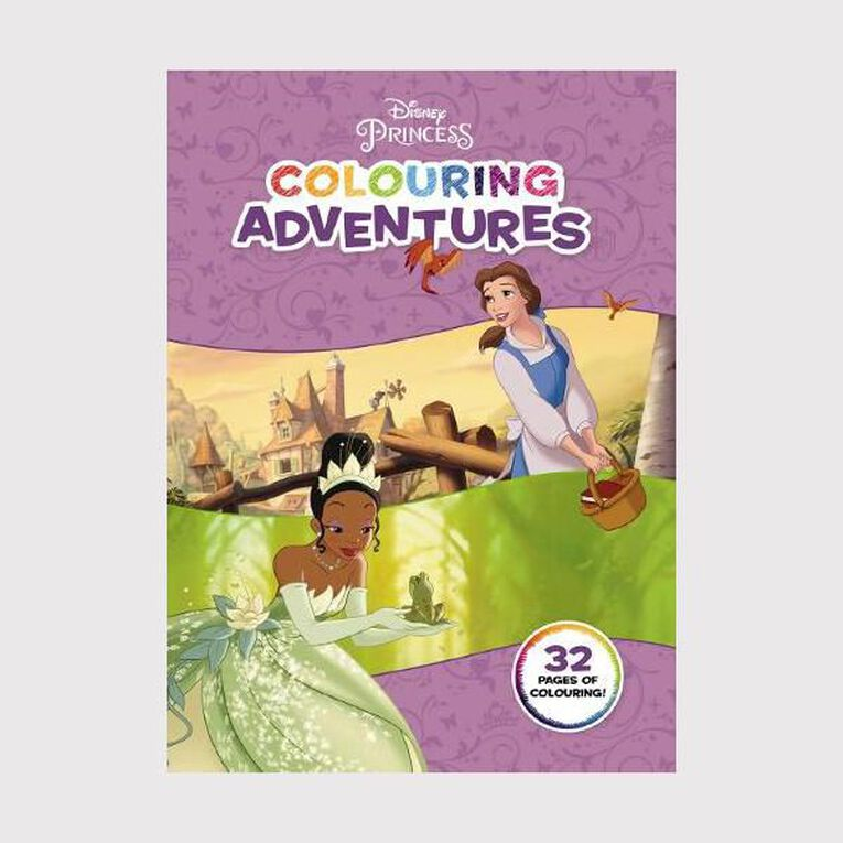 Princess Colouring Adventures, , hi-res