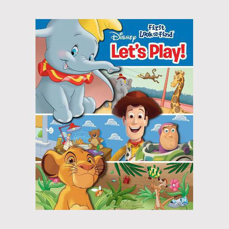 My First Look & Find: Disney Let's Play, , hi-res