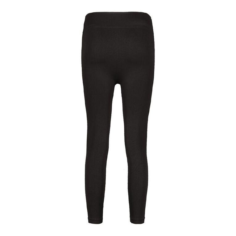 H&H Women's Seamless Leggings, Black, hi-res