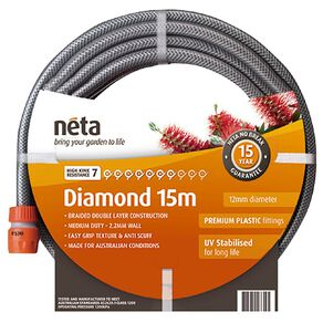 Neta Diamond Hose Fitted 15m