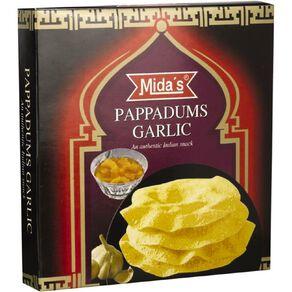 Midas Pappadums Garlic