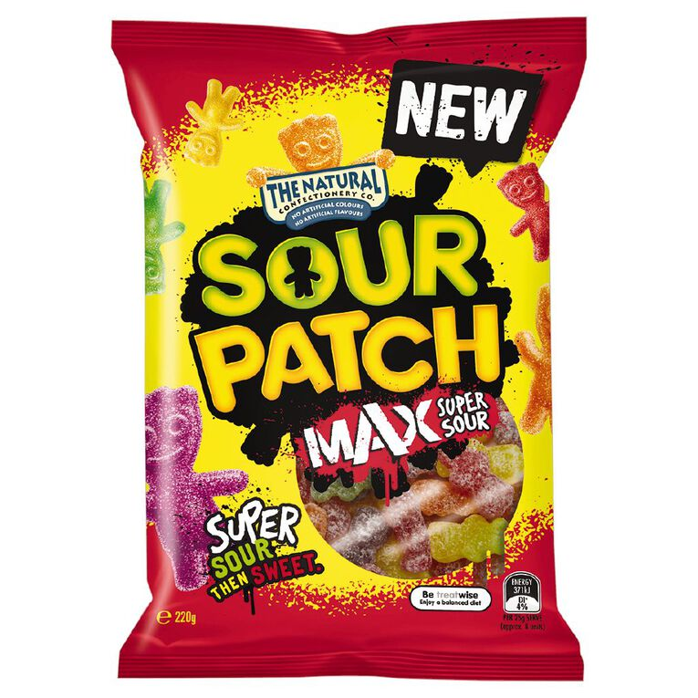The Natural Confectionery Co. Sour Patch Max 220g, , hi-res