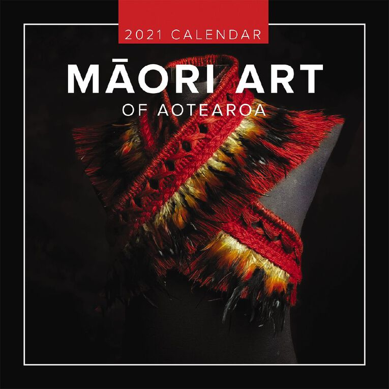 BrownTrout 2021 Square Wall Calendar Maori Art, , hi-res