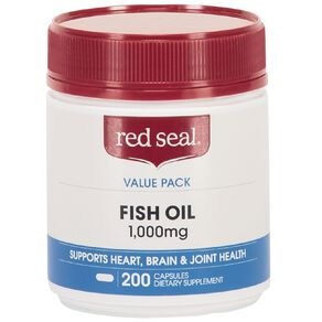 Red Seal Fish Oil 1000mg 200s