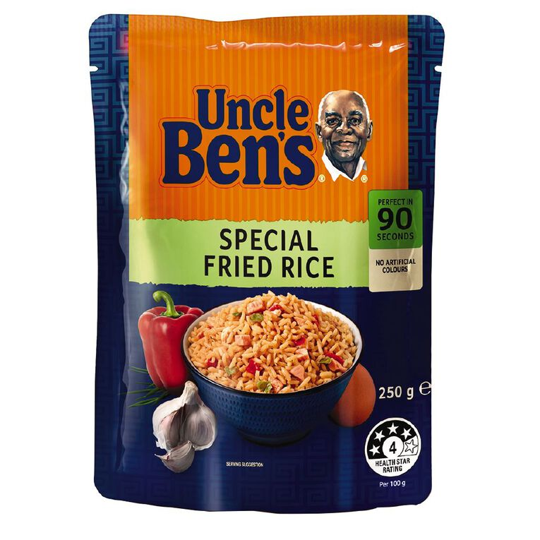 Uncle Ben's Microwave Rice Special Fried Rice 250g, , hi-res