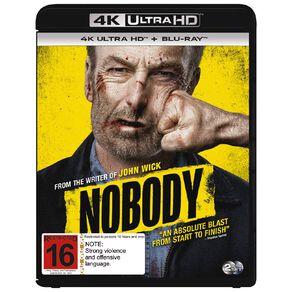 Nobody 4K BR 2 Blu-ray