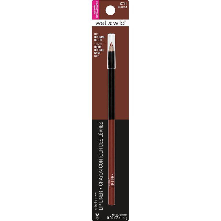 Wet n Wild Color Icon Lipliner Pencil Chestnut, , hi-res