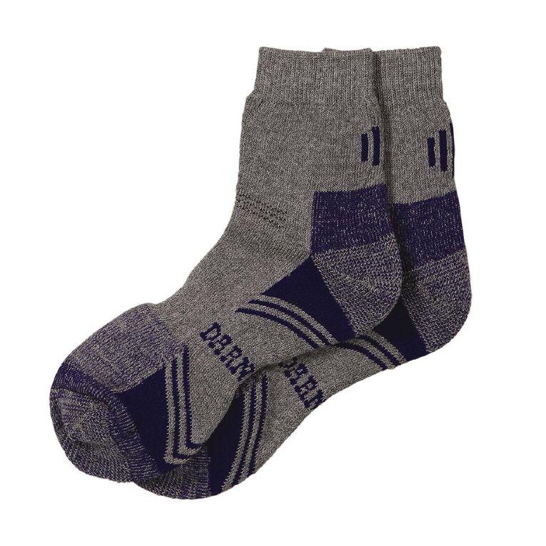 Darn Tough Women's Work Socks 2 Pack, Grey Marle, hi-res