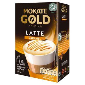 Mokate Gold Premium Latte Caramel 10 Sachets