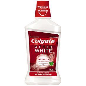Colgate Optic White Mouthwash Freshmint 500ml