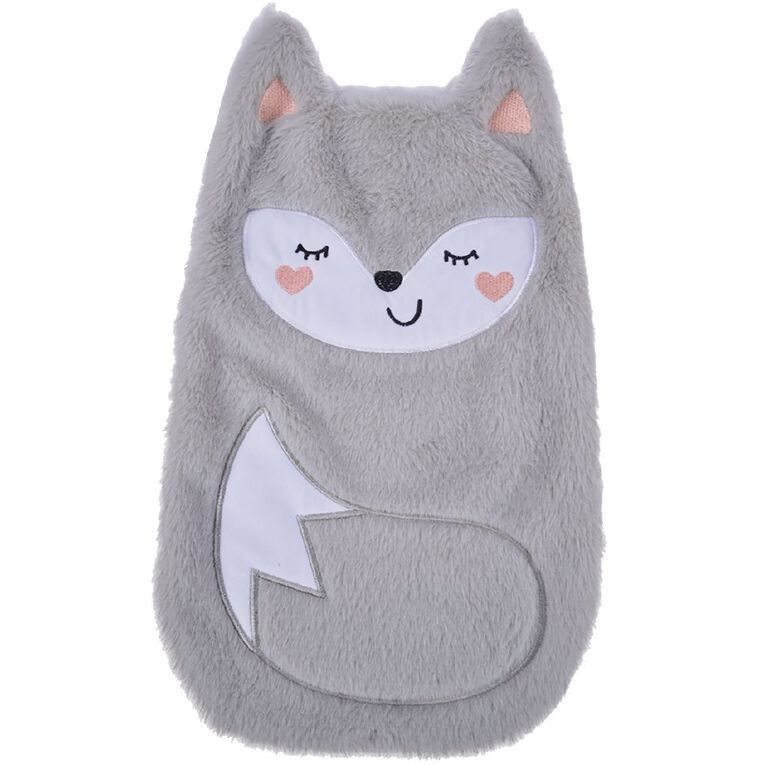 Living & Co Hot Water Bottle Cover Fox, , hi-res