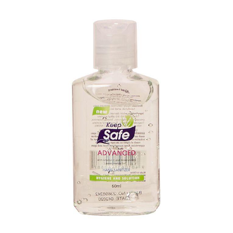 Keep Safe Hand Sanitiser 60ml, , hi-res