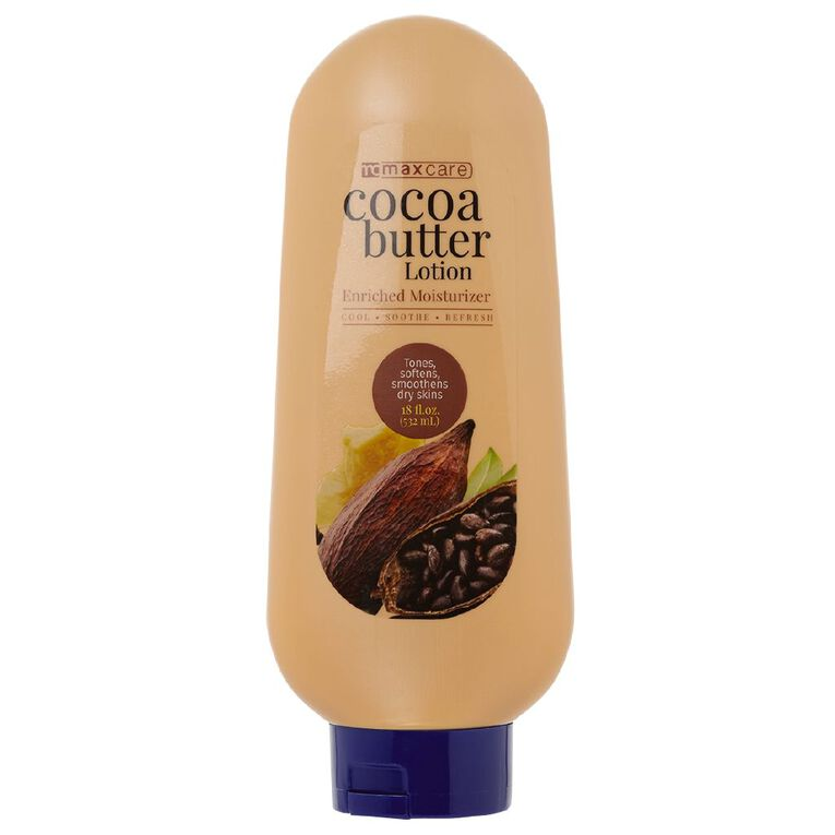 Maxcare Cocoa Butter Body Lotion 532ml, , hi-res