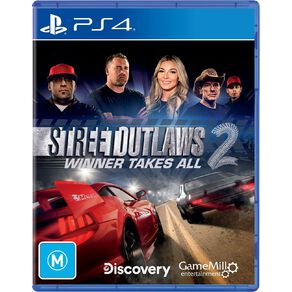 PS4 Street Outlaws 2 Winner Takes All