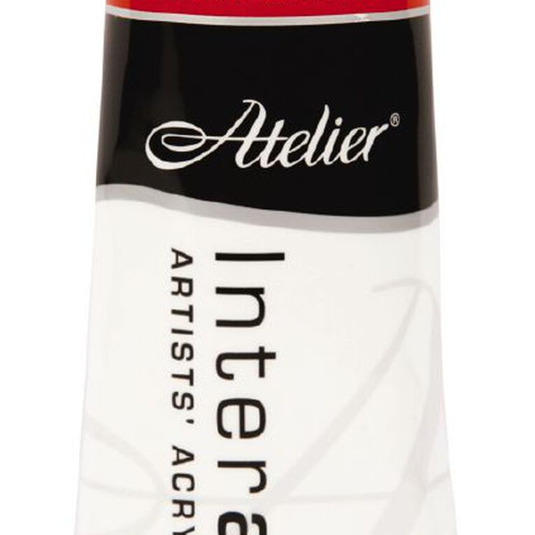 Atelier S4 Cadmium 80ml Light Scarlet Red, , hi-res image number null