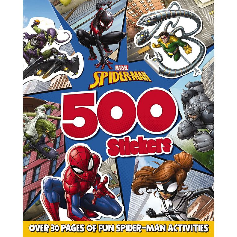 Spider-Man: 500 Stickers, , hi-res image number null