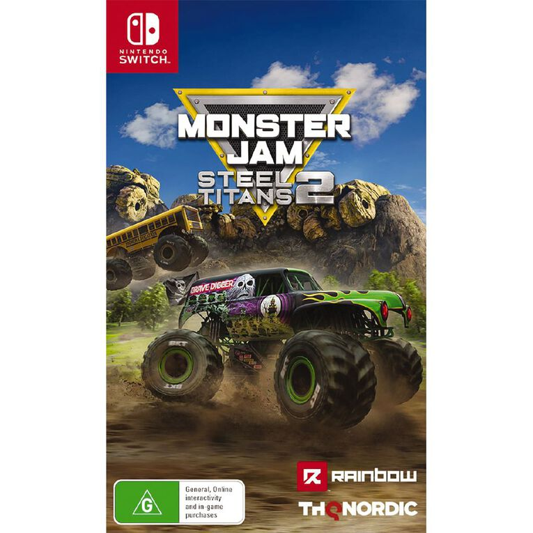 Nintendo Switch Monster Jam: Steel Titans 2, , hi-res image number null
