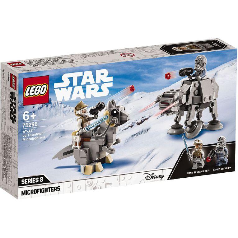 LEGO Star Wars AT-AT vs Tauntaun Microfighters 75298, , hi-res
