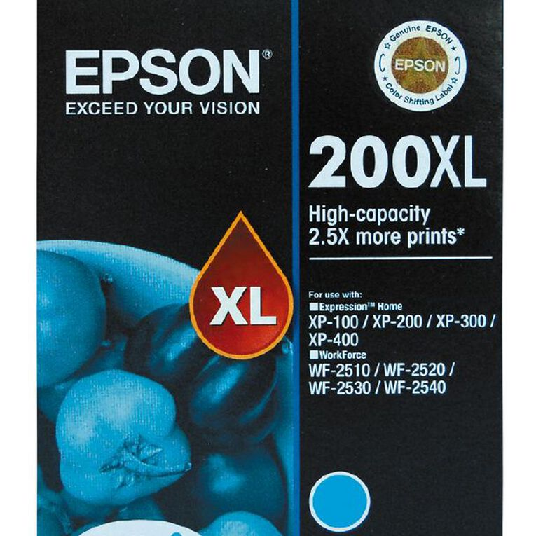Epson Ink 200XL Cyan (450 Pages), , hi-res
