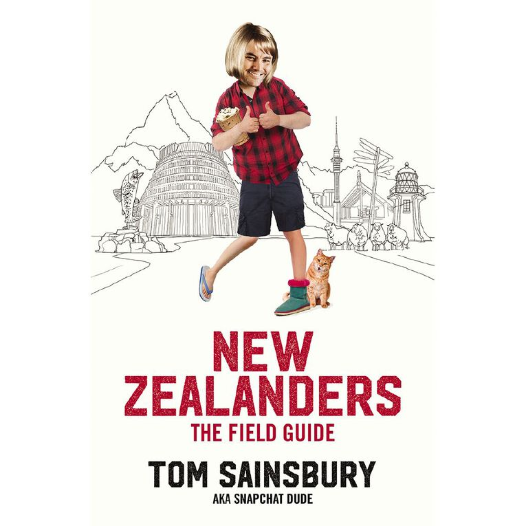 New Zealanders: A Field Guide by Tom Sainsbury, , hi-res image number null