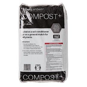 Kiwi Garden Compost Plus 30L