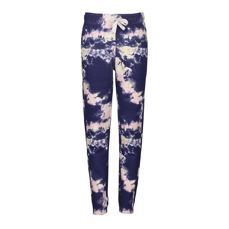 Young Original Girls' All Over Print Jogger Trackpants, Multi-Coloured, hi-res