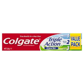 Colgate Triple Action Toothpaste 220g