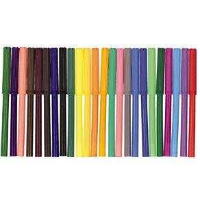 Kookie Felt Pens Multi-Coloured 24 Pack
