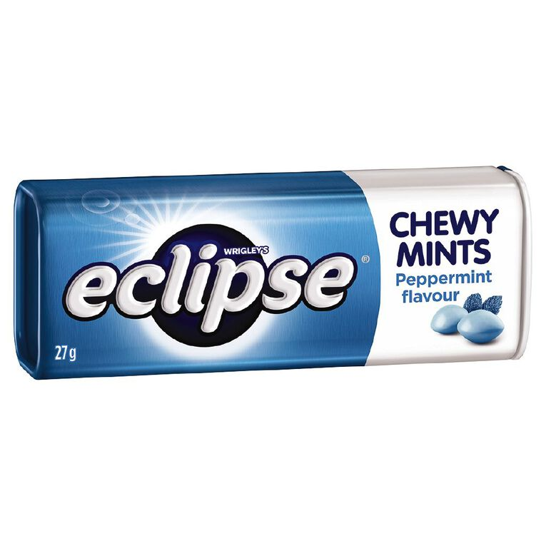 Eclipse Chewy Mints Peppermint Tin 27g, , hi-res