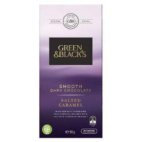 Green & Black's Green & Black's Velvet Edition Dark Salted Caramel 90g