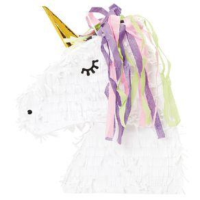Party Inc Unicorn Head Pinata 43cm x 8.5cm x 35cm