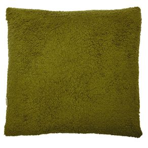 Living & Co Sherpa Cross Cushion Eclipse 50cm x 50cm