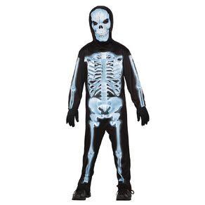 Seasons X-Ray Skeleton Costume 6-8 Years