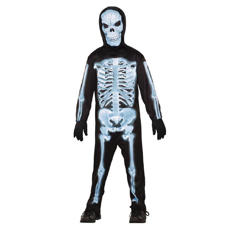 Seasons X-Ray Skeleton Costume 6-8 Years, , hi-res