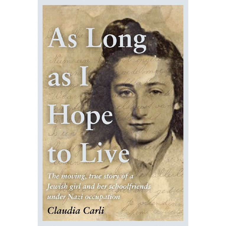 As Long As I Hope to Live by Claudia Carli, , hi-res