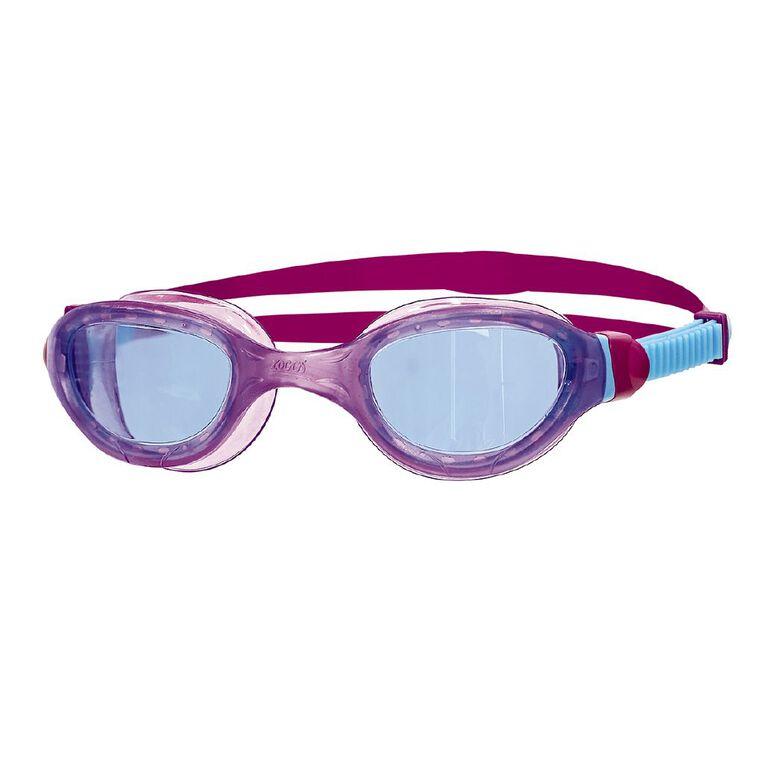 Zoggs Phantom Junior 2.0 Purple/Blue, , hi-res
