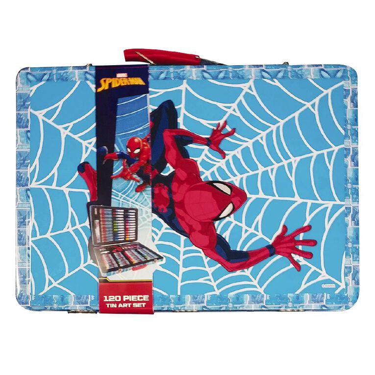Spider-Man Tin Art Set 120 Piece, , hi-res