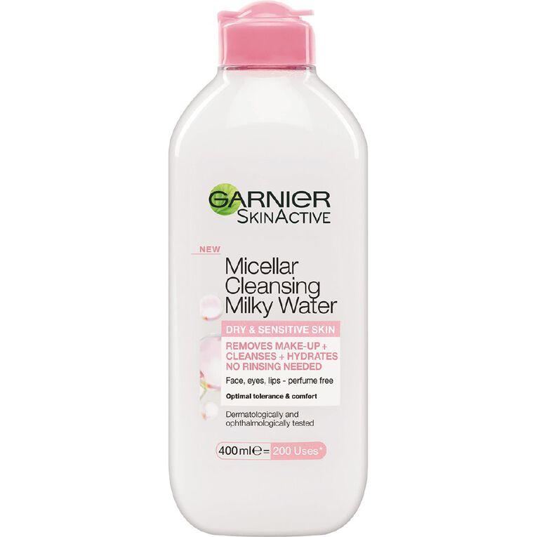 Garnier Micellar Cleasning Milky Water 400ml, , hi-res