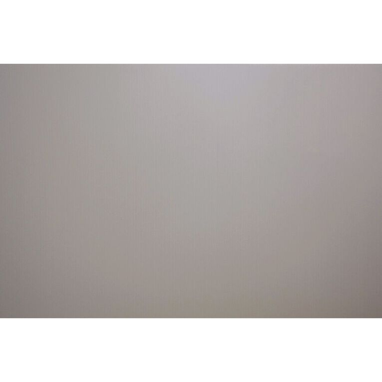 Plasti-Flute Sheet 600mm x 900mm Silver, , hi-res