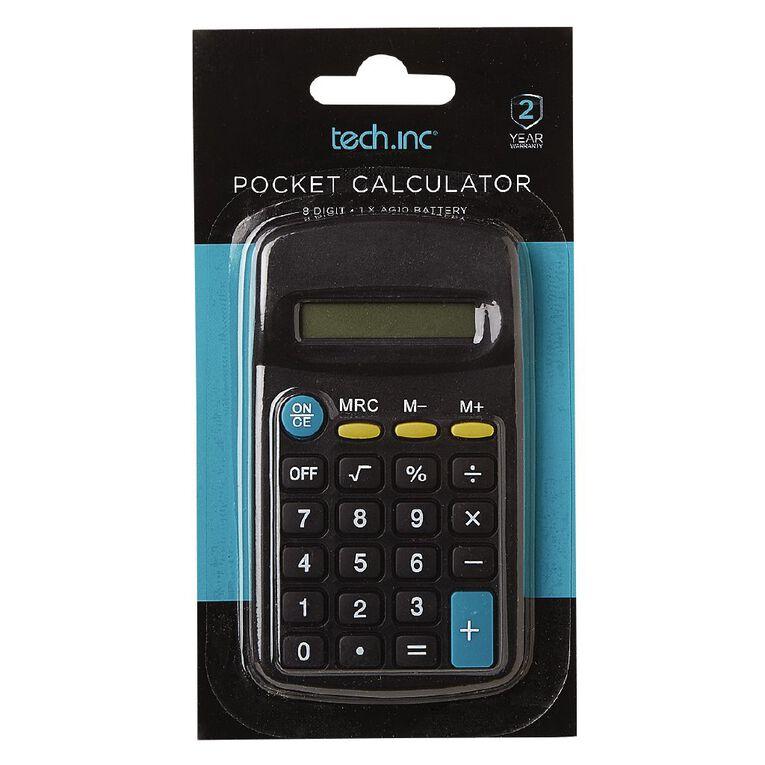 Tech.Inc Pocket Calculator, , hi-res