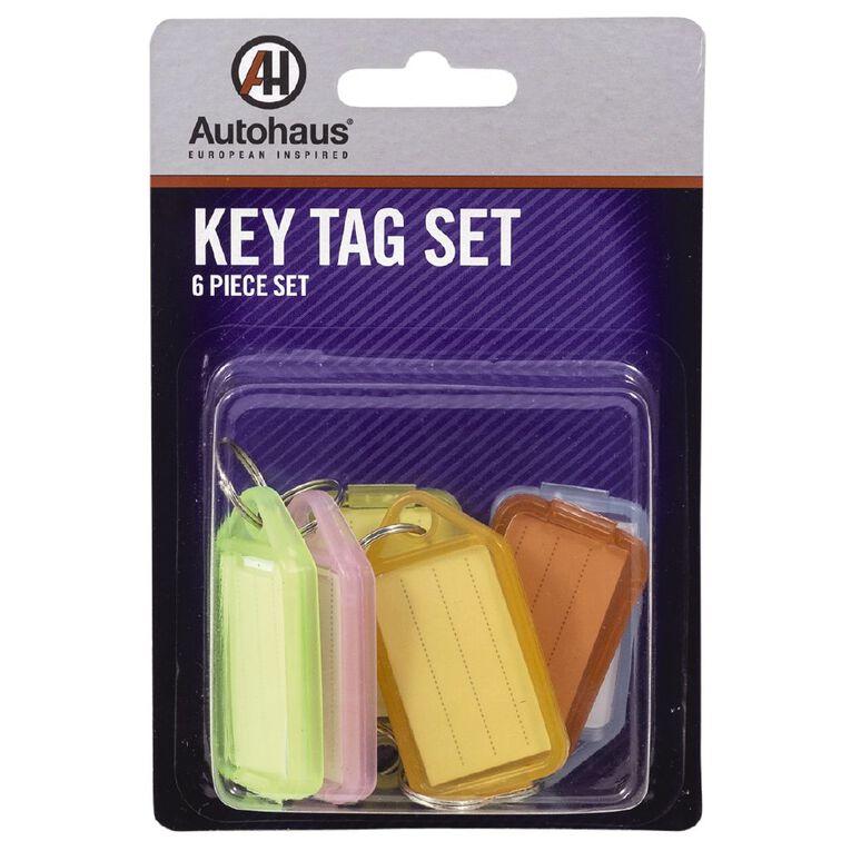 Autohaus Key Tag Set 6 Pack, , hi-res