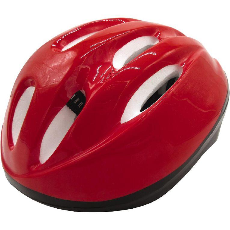 Milazo Starter Non Adjustment Helmet Red 53-55cm, , hi-res