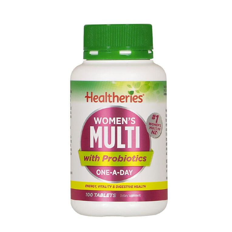 Healtheries Multi Women One A Day 100s, , hi-res