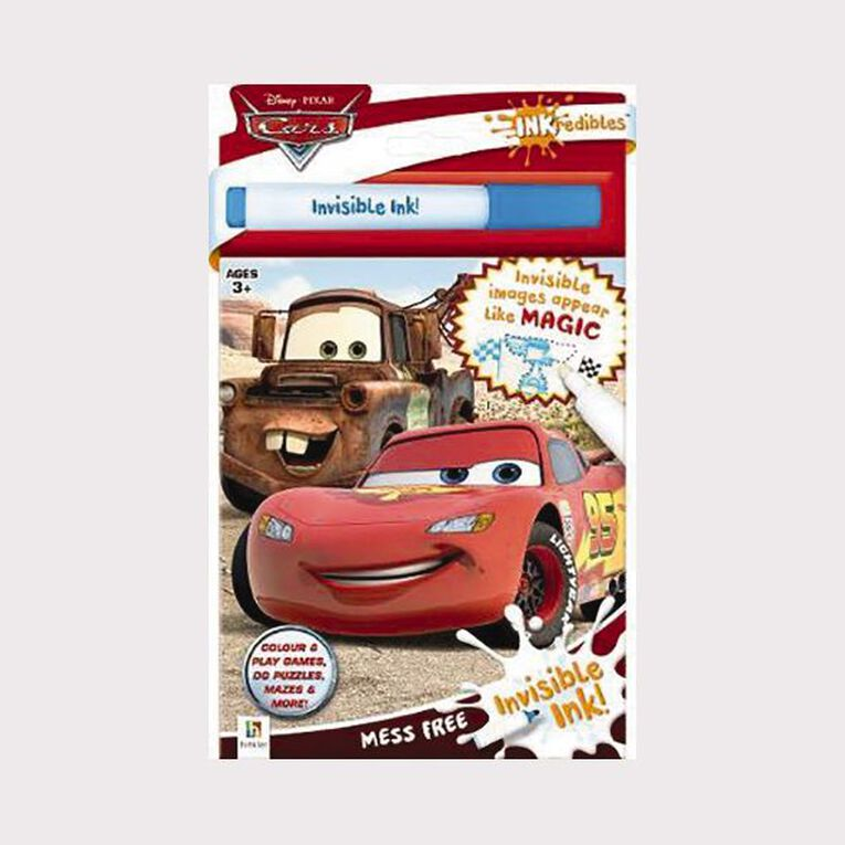 INKredibles: Disney Cars Invisible Ink (2019 Ed), , hi-res image number null