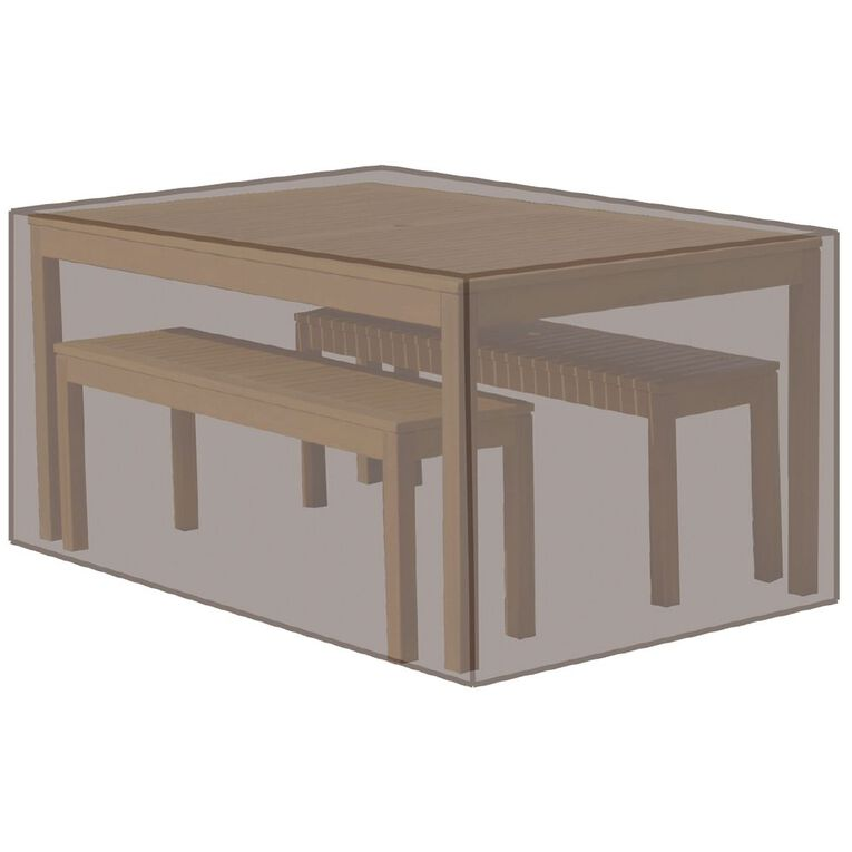 Living & Co Table & Bench Set Cover, , hi-res