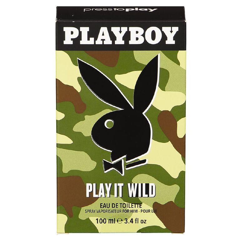 Playboy Play it Wild EDT 100ml, , hi-res
