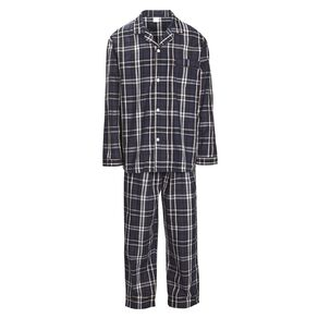 H&H Men's Woven Pyjama Set